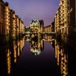 Nachtfotografie Hamburg Speicherstadt