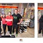 Kooperation mit Sport Schneider, Nobody is perfect & Netzwerk Navigation