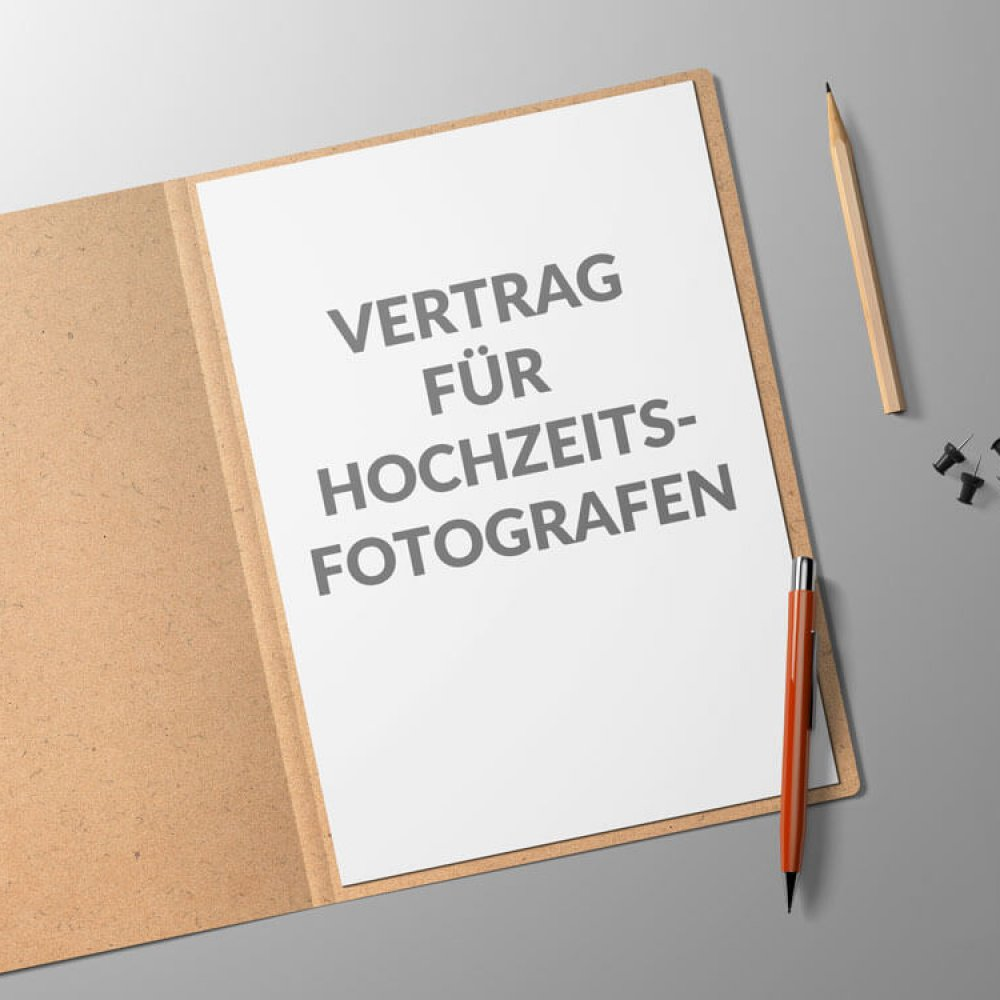 Vertrag Hochzeitsfotograf - inkl. AGB - Mustervertrag Vorlage ...
