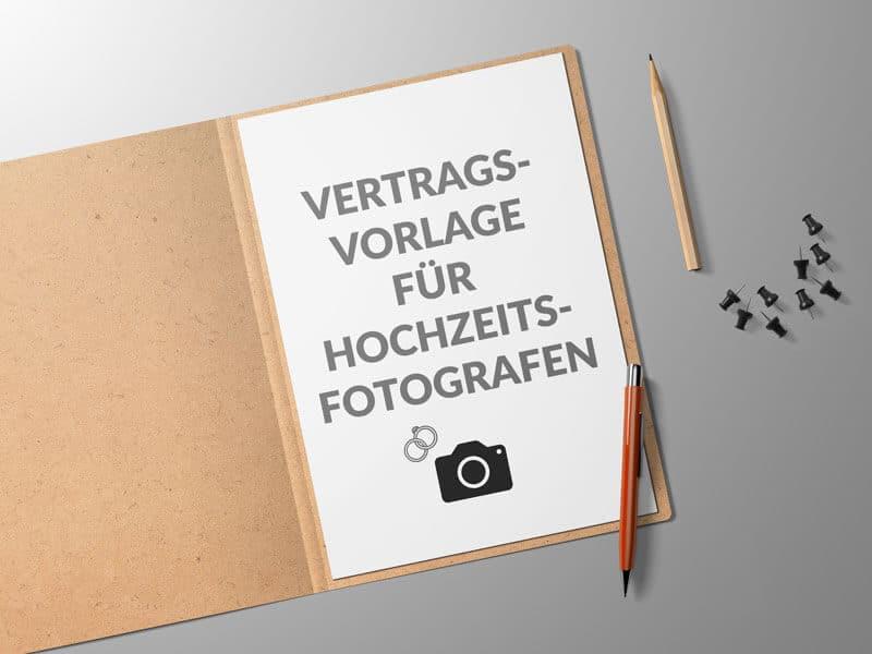 Vertrag Hochzeitsfotograf - inkl. AGB & DSGVO - Mustervertrag ...
