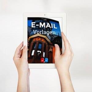 eMail Vorlagen Hochzeitsfotograf E-Mail