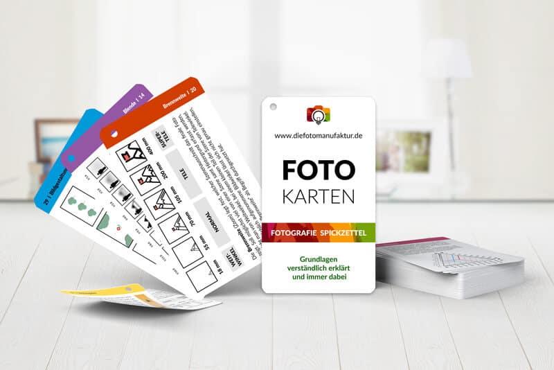 Fotografie Checkkarten Grundlagen
