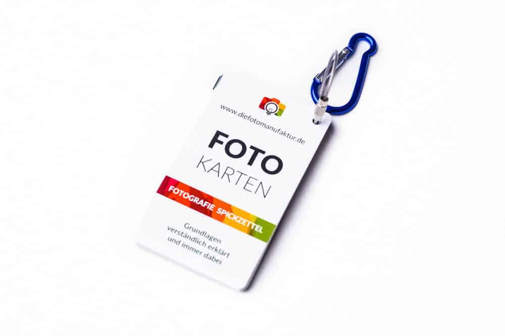 Spickzettel für Fotografen Cheatcards Fotografie Grundlagen 2