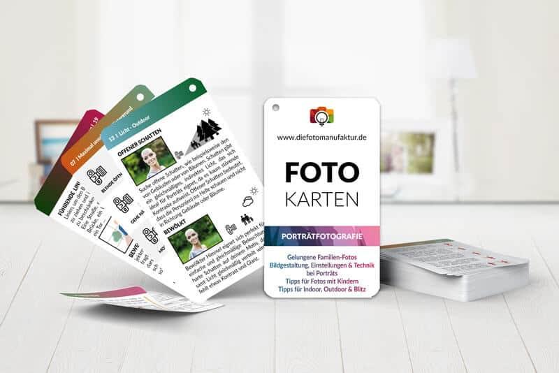 Fotografie Checkkarten Porträts