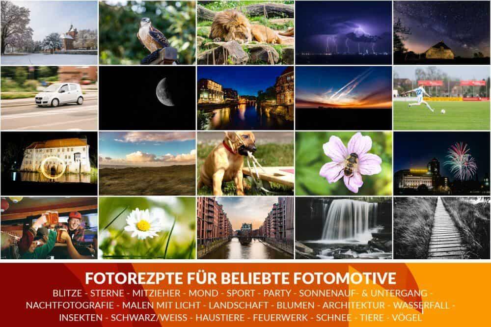Kameraeinstellungen Fotorezepte Spickzettel Kurzanleitung