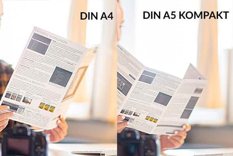 Lightroom Spickzettel DIN A4 DIN A5 Merkblatt Faltblatt